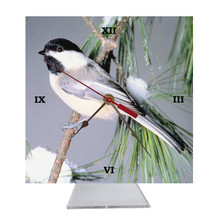 Chickadee Desk Clock