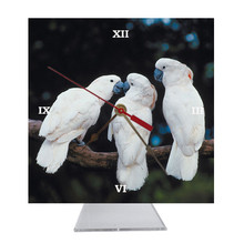 Cockatoo Desk Clock