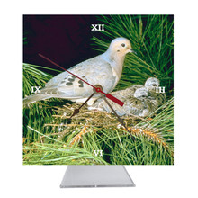 Dove Desk Clock