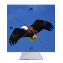 Eagle Desk Clock