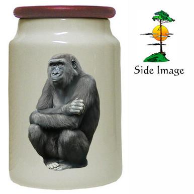 Gorilla Canister Jar