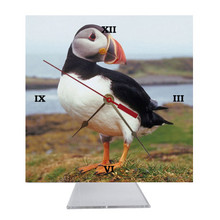 Atlantic Puffin Desk Clock