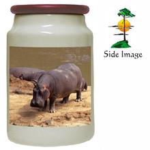 Hippo Canister Jar