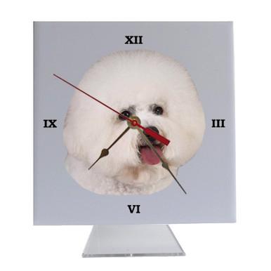 Bichon Desk Clock