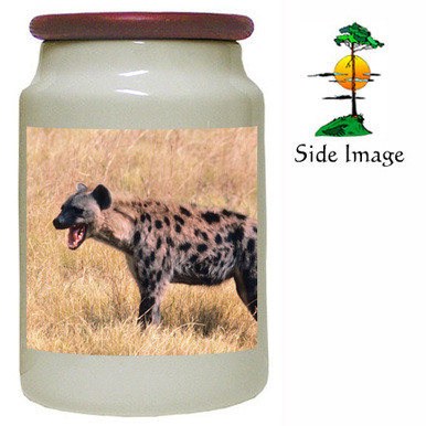 Hyena Canister Jar