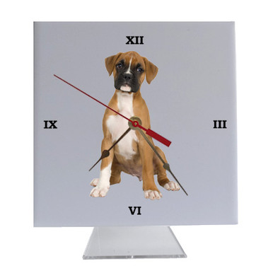 Boxer Desk Clock