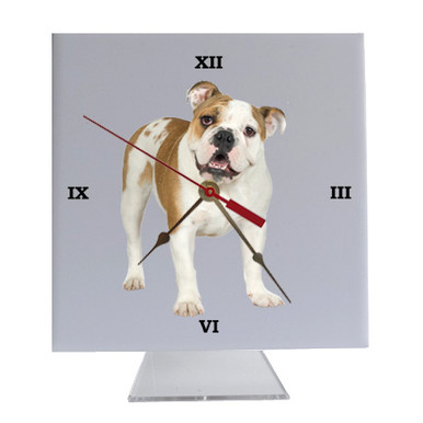 Bulldog Desk Clock