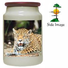 Jaguar Canister Jar
