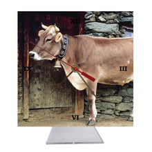 Cow Desk Clock
