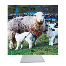 Lamb Desk Clock