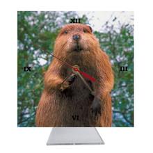 Beaver Desk Clock