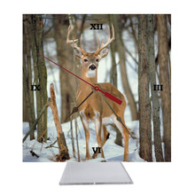 Deer Desk Clock