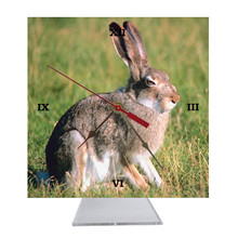 Rabbit Desk Clock