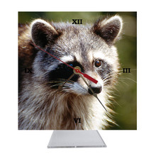 Raccoon Desk Clock