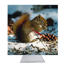 Squirrel Desk Clock