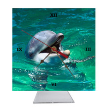 Dolphin Desk Clock