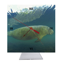 Manatee Desk Clock