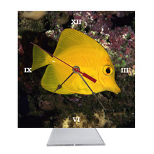 Yellow Tang Desk Clock
