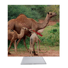 Camel Desk Clock