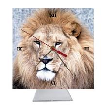Lion Desk Clock