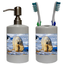 Polar Bear Bathroom Set
