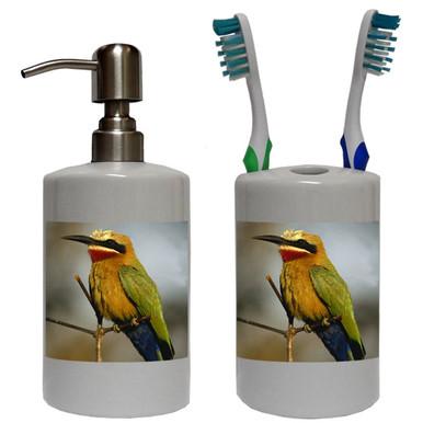 Bee Eater Bathroom Set