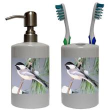 Chickadee Bathroom Set