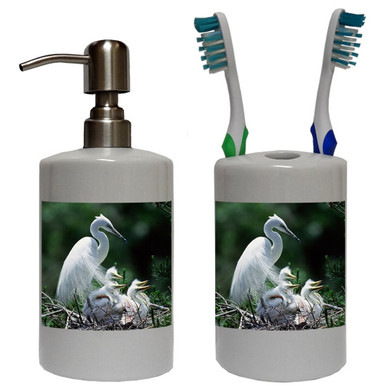 Egret Bathroom Set