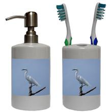 Egret Bathroom Set