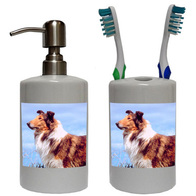 Collie Bathroom Set