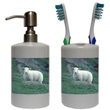 Sheep Bathroom Set