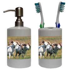 Big Horned Sheep Bathroom Set