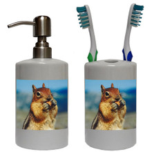 Chipmunk Bathroom Set