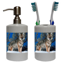 Coyote Bathroom Set