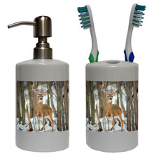 Deer Bathroom Set