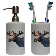 Moose Bathroom Set