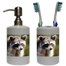 Raccoon Bathroom Set