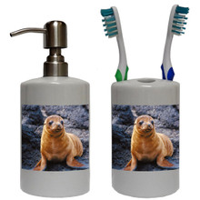 Sea Lion Bathroom Set