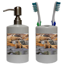 Walrus Bathroom Set