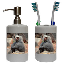Baboon Bathroom Set