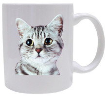 American Shorthair Cat Coffee Mug