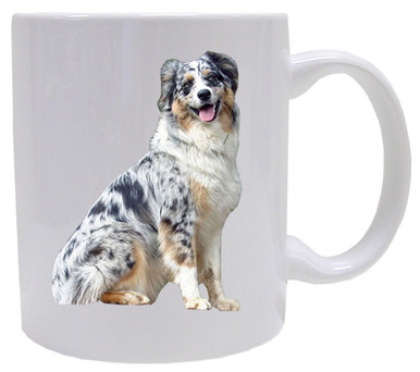 I Love My Australian Shepherd Coffee Mug