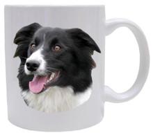 I Love My Border Collie Coffee Mug