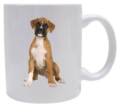 I Love My Boxer Coffee Mug