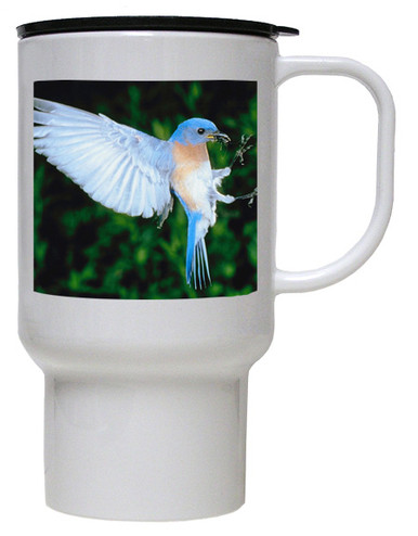 Bluebird Polymer Plastic Travel Mug