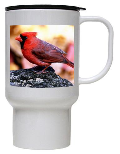 Cardinal Polymer Plastic Travel Mug