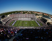 TCU Horned Frogs at Amon Carter Stadium Poster