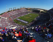 TCU Horned Frogs at Amon Carter Stadium Poster 1