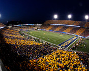 West Virginia Mountaineers at Mountaineer Field Poster