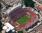 NC State Wolf Pack at Carter Finley Stadium Poster